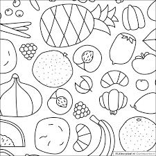 Kleurplaat Groente En Fruit Qt96 Belbininfo