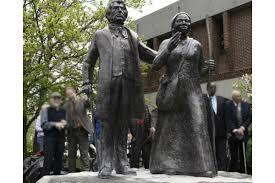 Harriet Tubman and James Seward Statue in Schenectady - WWP