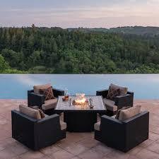 Niko 6piece Patio Deep Seating Modular Sectional By Sirio™ I Niko Outdoor Furniture