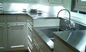 stainless steel countertop with integrated sink stainless steel with sink s integrated stainless steel countertop with stainless steel countertop