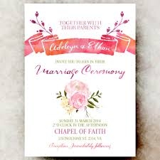 Watercolor Wedding Invitation Templates At Getdrawings Com Free