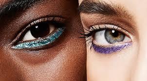 upside down eye makeup is easier than it looks