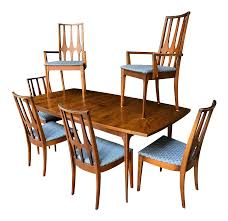Mid Century Modern Broyhill Brasilia Dining Table And Six Chairs W