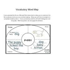 vocabulary words worksheet template 8 blank vocabulary worksheet templates free word documents