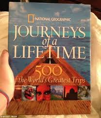travel fan rachel was delighted to receive this coffee table book by national geographic as part