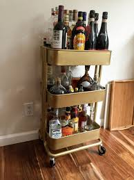 Bar Cart Ikea Hack