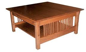 Amish Prairie Mission Square Coffee Table