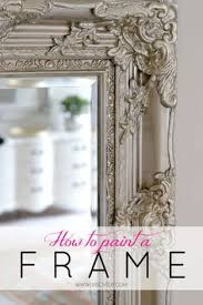 diy painted mirror frame. How To Paint A Mirror Frame Give It Depth And Dimension. Great Tips With Diy Painted L