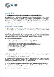 Company Bio Template Impressive 48 Company Profile Samples Templates In PDF Sample Templates