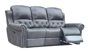 hr059 3rr g12 husky furniture hunter reclining sofa gray