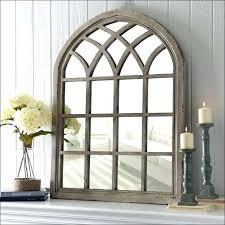 arched window pane mirror arched window pane mirror tall wooden