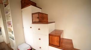 Small Picture Tiny House Stairs With Closet a more decor
