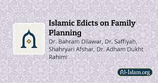 Family Planning Wall Chart Birth Control Islamic Edicts On Family Planning Al Islam Org
