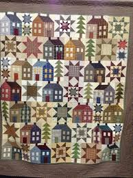 1032 best HOUSE QUILTS 2 images on Pinterest | Curtains, Happy and ... & Quilt by Clara Gibson, pattern Miss Rosie Quilt Co.