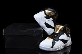 black jordan shoes 2016 for girls. women air jordan 7 gs champagne white gold black shoes-5 shoes 2016 for girls