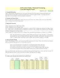 Six Sigma Control Chart Excel Template Control Chart Excel Template Templates At