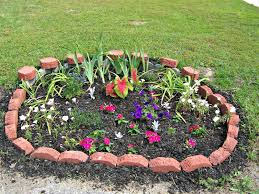 Small Picture Small Flower Bed Ideas With Rock Garden Ideas Also Small Plants