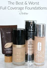 the best and worst full coverage foundations review