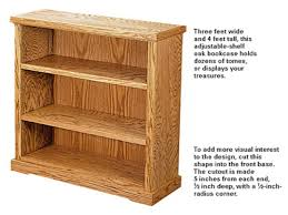 woodworking bookshelves plans