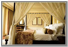King Bed Canopy Drapes Home Design Ideas. View Larger