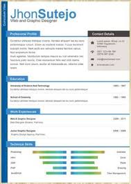 Amazing resume templates to get ideas how to make fantastic resume 4