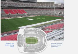 Ohio State Buckeyes Stadium Seating Chart Best Seats Stadium Online Charts Collection