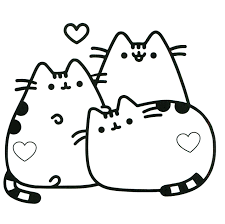 Categoryexcellent coloring pages pusheen best of pusheen the cat coloring pages book f christmas kawaii new category printable coloring page with category
