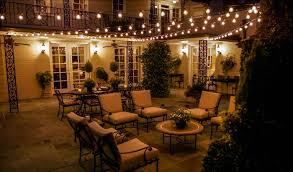 outdoor lighting string