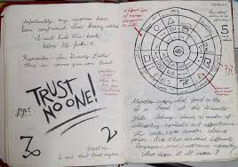 gravity falls journal 3 replica trust no one by leoflynn