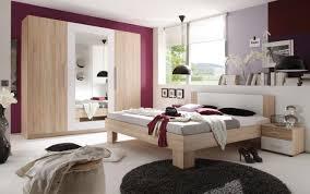 Schlafzimmer Eiche Sonoma Dekor Mit Spiegelschrank Und Nachttischen
