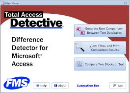 What Is Microsoft Access Microsoft Access Compare Database And Object Differences