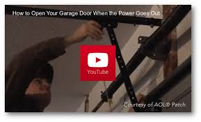 how to manually open a garage doorHow To Open Garage Door Manually  Wageuzi