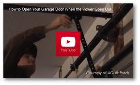 open garage door manuallyHow To Open Garage Door Manually  Wageuzi