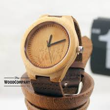 natural bamboo wooden watch leather strap mens watch natural bamboo wooden watch leather strap mens watch wedding gift wood