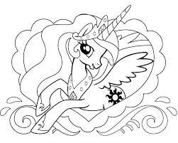 princess celestia coloring page my little pony coloring pages my little pony princess coloring pages princess