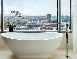 freestanding bathtub oval stone deep astounding oval freestanding tub