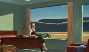 edward hopper western motel 1957 oil on canvas 77 8 x