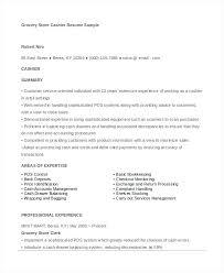 Resume Cashier Example Skinalluremedspa Com
