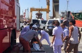 2 thủy thủ và 1 thợ máy chết ngạt ở Quy Nhơn do ngộ độc khí - Xã hội