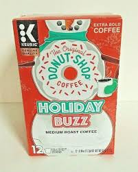 Of the original donut shop regular coffee each. The Original Donut Shop Coffee Holiday Buzz Keurig K Cup Coffee Pods 12 Count For Sale Online Ebay