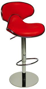 red bar stools. Deluxe Carcaso Bar Stool Red Stools