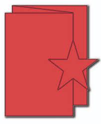 The Paper Cut Star Swinging Z Fold Card