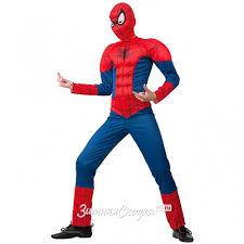 Детский <b>карнавальный костюм Человек</b> Паук с мускулами, рост ...