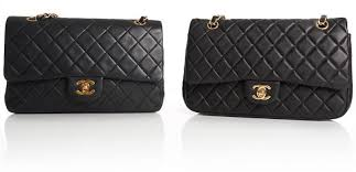 chanel vintage bag. ok drama over, the bag on left is authentic, right replica. authentic in fact a vintage chanel 2.55 made between v