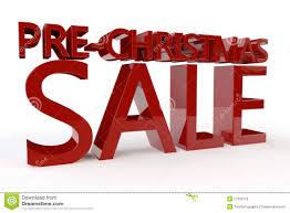 Pre Christmas Sale Stock Illustration Illustration Of Style 27300716