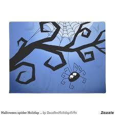 Halloween spider Holiday fun doormat | Other Zazzler's Doodles ...
