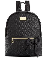 Best 25+ Quilted backpacks ideas on Pinterest   Backpack purse ... & Betsey Johnson Macy's Exclusive Quilted Backpack - Handbags & Accessories -  Macy's Adamdwight.com