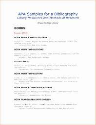 Apa Style Citation Bibliography Example Lezincdc Com