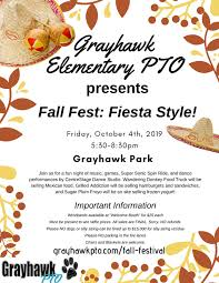 Fall Festival Flier Fall Festival Grayhawk Pto