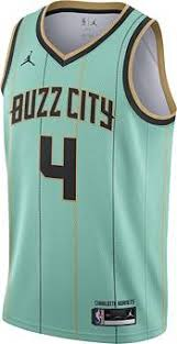 The hornets compete in the national basketball association (nba). Jordan Men S 2020 21 City Edition Charlotte Hornets Devonte Graham 4 Dri Fit Swingman Jersey Dick S Sporting Goods